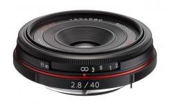 Pentax HD DA 40 mm F 2,8 Limited černý