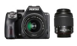 Pentax K-70 + 18-50 DA WR RE / DA-L 50-200 WR černý