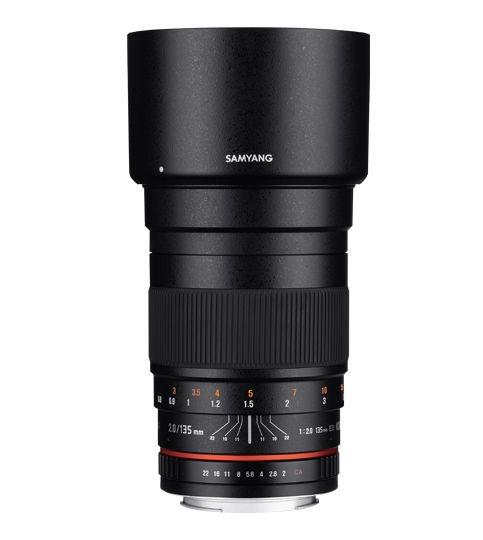 Samyang 135mm F/2.0 ED UMC pro Pentax
