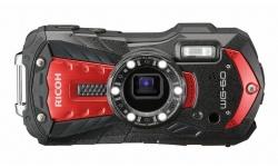 Ricoh WG-60 Červený + Neoprénové pouzdro a plovoucí poutko