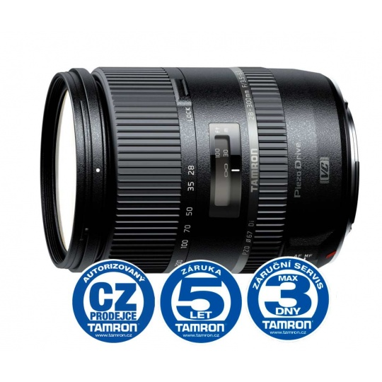 Tamron 28-300mm F/3.5-6.3 Di PZD pro Nikon F, Bonus 1.000 Kč ihned odečteme