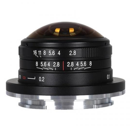 Laowa 4 mm f/2,8 Fisheye pro Canon M