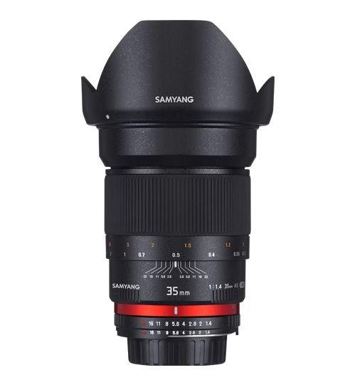 Samyang 35mm F/1.4 AS UMC pro Olympus
