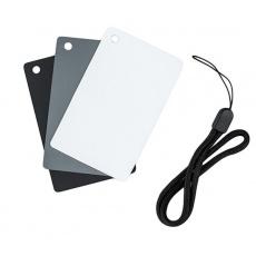 JJC GC-2 Grey Card (sada karet pro vyvážení bílé)