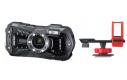 Ricoh-Pentax WG-50 černý + držák O-CH1470