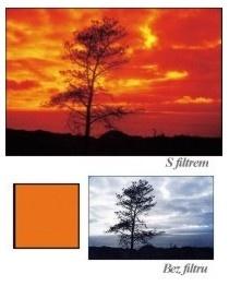 Cokin P002 Pro ČB fotografii oranžový