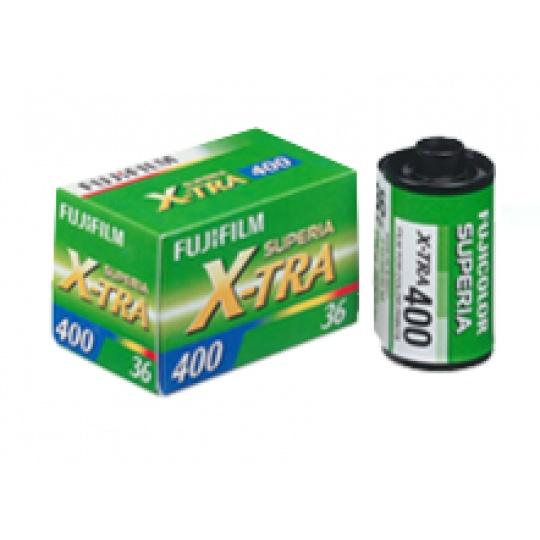 Fujifilm Superia X-TRA 400/36 barevný negativní kinofilm