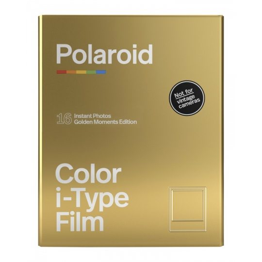 Polaroid Originals i-Type Color film Golden Moments 2-PACK