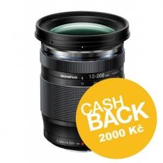 Olympus M.ZUIKO DIGITAL ED 12-200mm F3.5-6.3, CashBack 2000 Kč