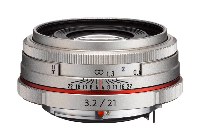 Pentax HD DA 21 mm F 3,2 AL Limited stříbrný