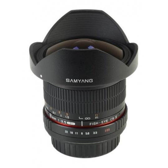 Samyang 8mm F/3.5 UMC Fish-Eye CS II (rybí oko) pro Canon EF