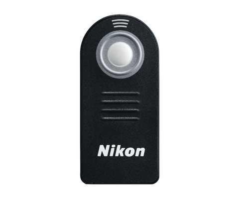 Nikon ML-L3 infra