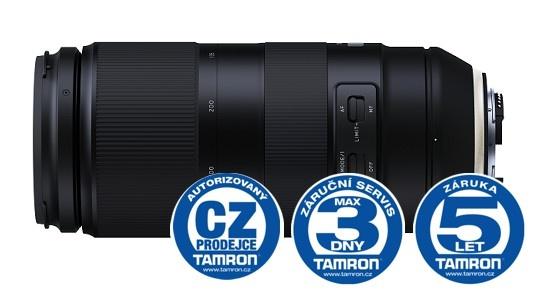 Tamron AF 100-400mm F/4,5-6,3 Di VC USD pro Nikon (A035N)