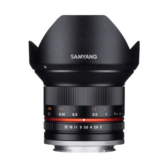 Samyang 12mm f/2.0 NCS CS Fujifilm X černý