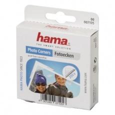Hama fotorůžky samolepící, transparentní 200 ks