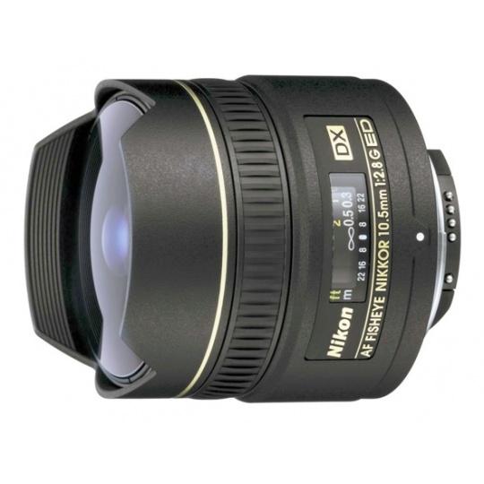 Nikon 10,5 mm F 2,8G AF ED DX rybí oko, Akce -10%