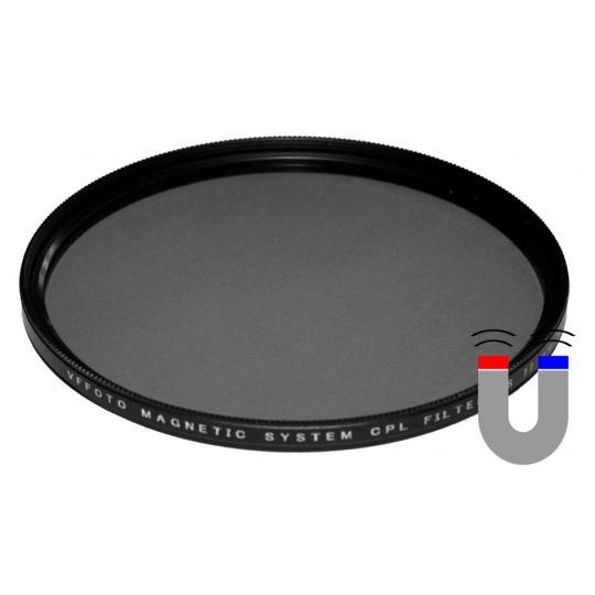 VFFOTO magnetický polarizační filtr PS 62 mm