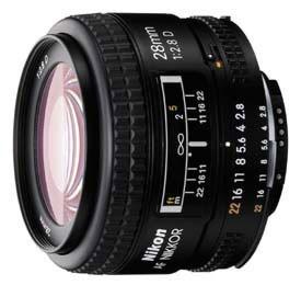 Nikon 28 mm F 2,8D AF