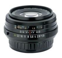 Pentax smc FA 43 mm F 1,9 Limited černý