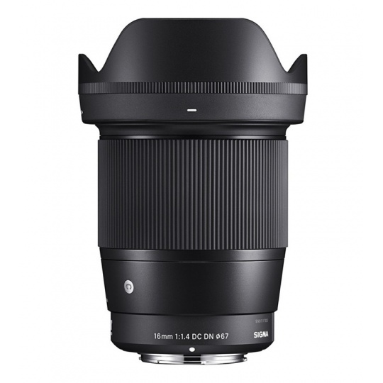 Sigma 16/1.4 DC DN Contemporary černý Micro 4/3 pro Olympus / Panasonic, Nákupní bonus 600 Kč (ihned odečteme z nákupu)