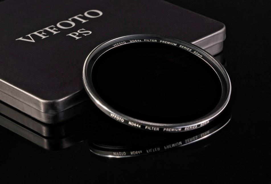 VFFOTO ND 64x PS 62 mm + utěrka z mikrovlákna