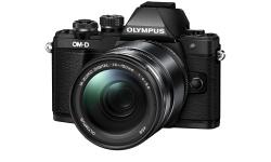 Olympus OM-D E-M10 mark II + 14-150 černý + náhradní baterie T6